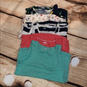 (5) Old Navy Tank Tops